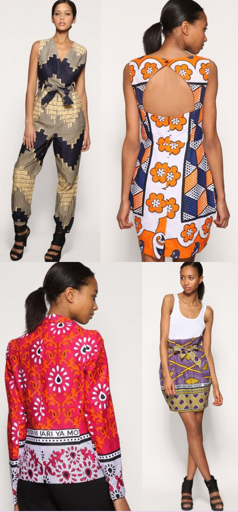 Tribal Asos Africa collection