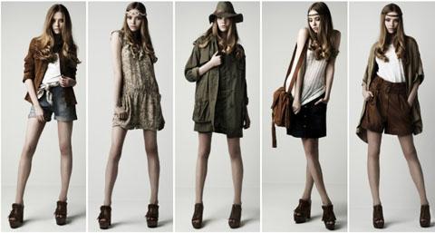 Zara lookbook p/e 2010