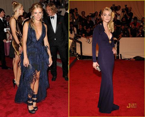 Met Ball 2010 Sienna Miller Jessica Stam