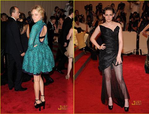 Met Ball 2010 Chloe Sevigny Kristen Stewart