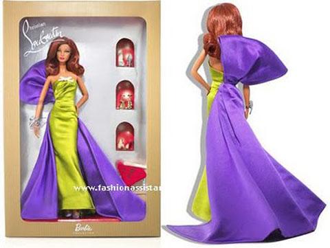 Barbie scarpe Louboutin