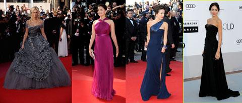 Cannes 2010 Adriana Karembe Aishwarya Rai Camilla Belle