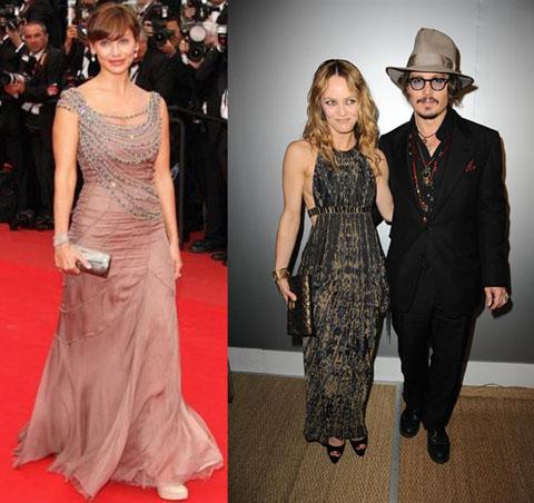 Cannes 2010 Natalie Imbruglia Vanessa Paradis
