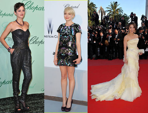 Cannes 2010 Marion Cotillard Michelle Williams Michelle Yeoh