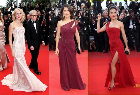 Cannes 2010 Naomi Watts Salma Hayek