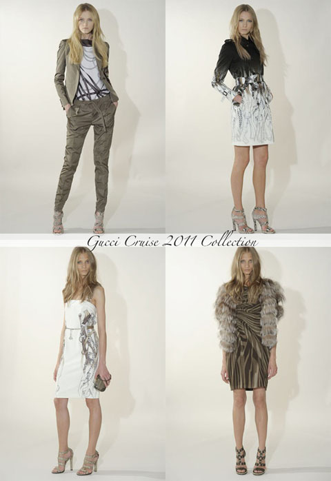 Gucci Cruise 2011 collection