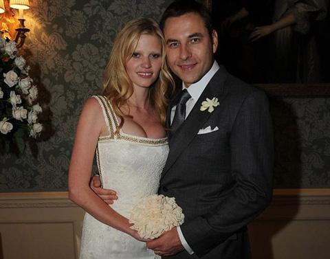 Lara Stone sposa