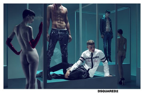 Dsquared2 advertising