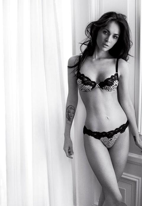 Megan Fox Armani Underwear