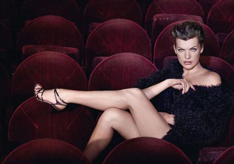 Escada Milla Jovovich