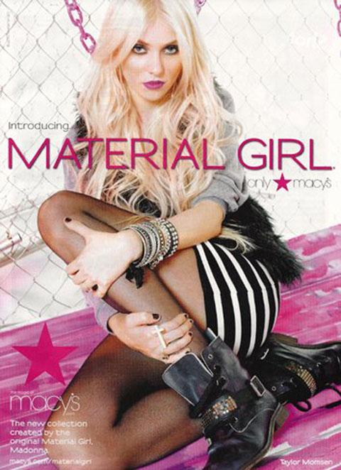 Taylor Momsen Material Girl
