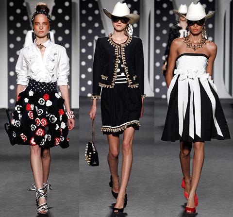 innovative design c3706 0d49c Milano Fashion Week p/e 2011: Moschino | Very Cool!