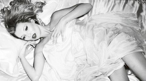 Kate Moss cover album