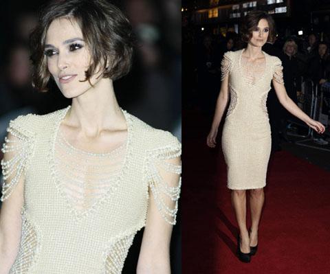 Keira Knightley Chanel dress