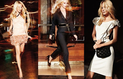 Mango lookbook Poppy Delevigne
