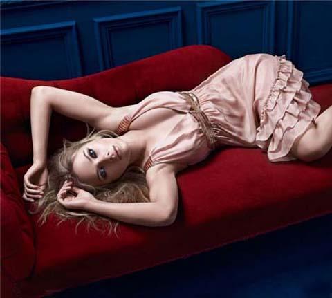 Scarlett Johansson per Mango