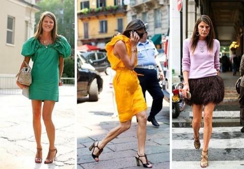 Anna Dello Russo style