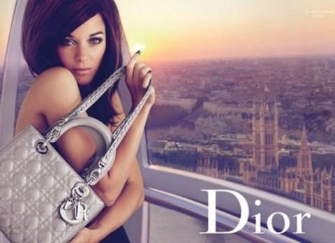 Lady Dior grey Marion Cotillard