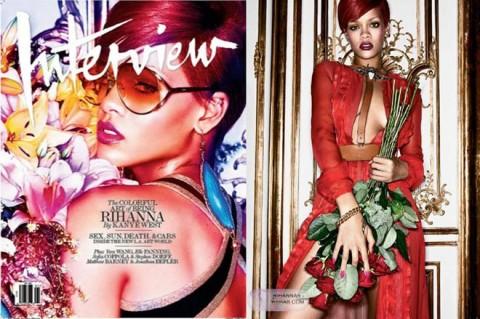 Rihanna Interview magazine