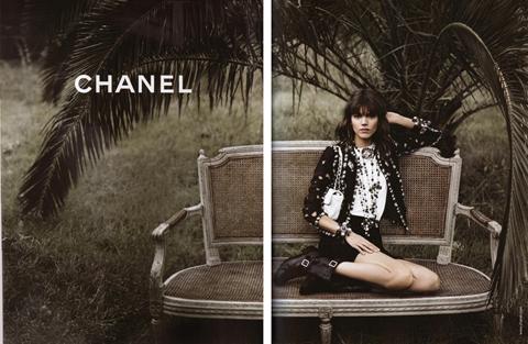 Chanel adv pe 2011 Freja Beha