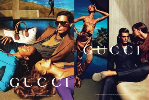 Gucci ad campaign primavera-estate 2011