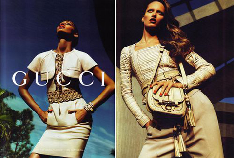 Gucci pe 2011 advertising