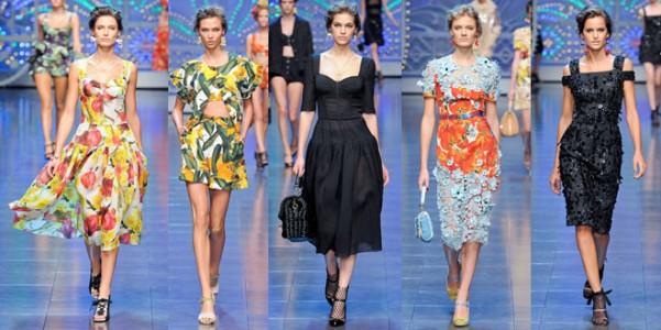Ritorno alle radici per Dolce e Gabbana primavera-estate 2012 ... dac57aad243