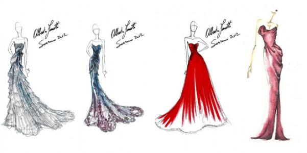Sanremo 2012 chi vestir chi very cool for Disegni di casa alla moda