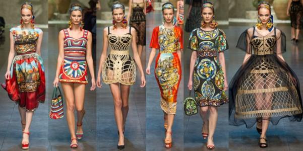 La Sicilia è al centro dell ispirazione della nuova linea primavera-estate  2013 di Dolce e Gabbana. 44cbb6b64cf
