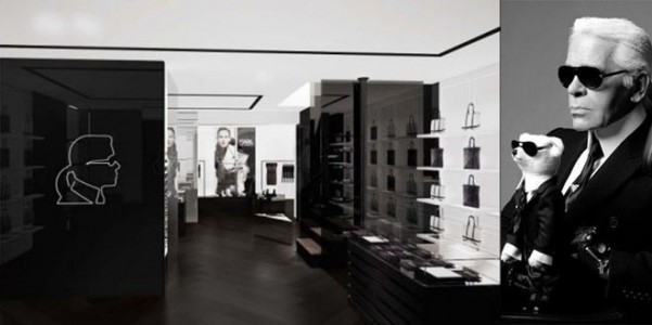Karl lagerfeld concept store very cool for Aprire concept house