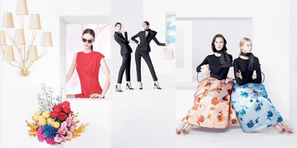 Raf Simons pe 2013 Dior adv