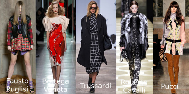 MMD ai 2013-14 Puglisi Bottega Veneta Trussardi Cavalli Pucci