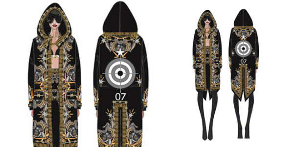 Rihanna tour Givenchy