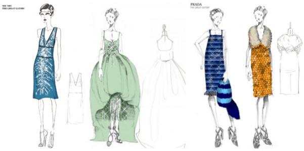 Gatsby costumi Prada