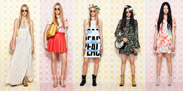 Moschino Cheap and Chic Resort 2014