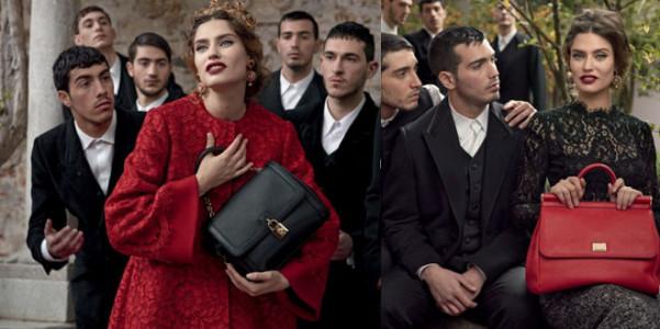 Dolce e Gabbana adv ai 2013-14