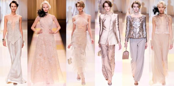 Armani Prive Haute Couture Fall 2013