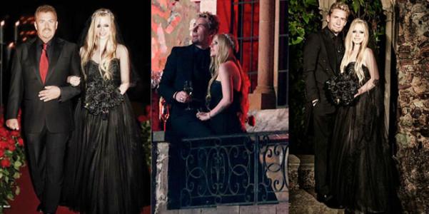 Avril Lavigne Matrimonio In Nero : La sposa in nero very cool