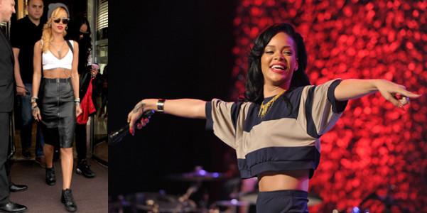 Tendenze crop to Rihanna