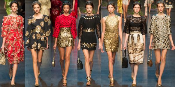 Dolce Gabbana pe 2014
