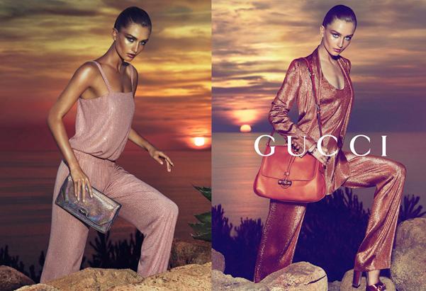 Gucci Resort 2014 ad