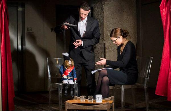 John Galliano marionette