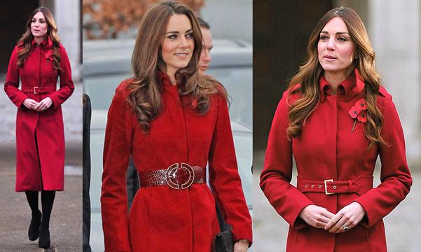 Kate Middleton LK Bennett coat