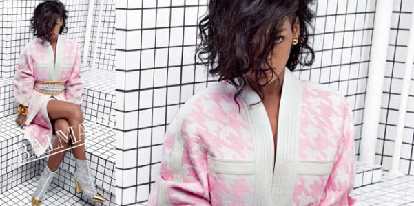 Rihanna Balmain pe 2014