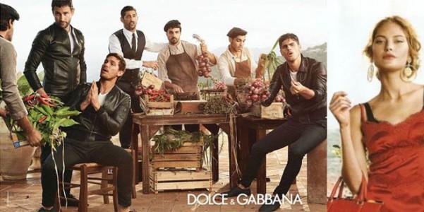 Dolce Gabbana adv pe 2014