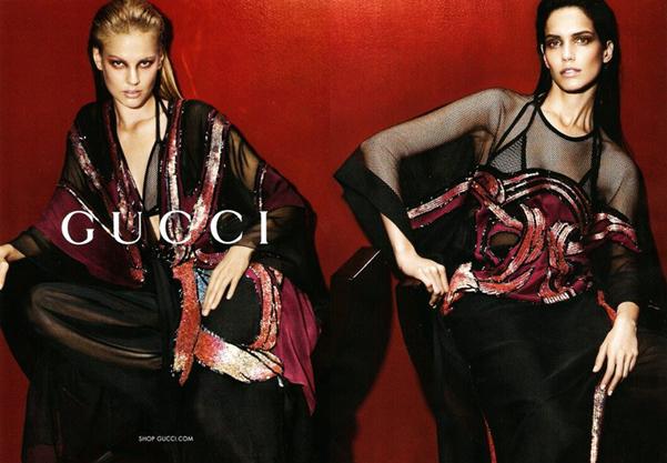 Gucci adv pe 2014