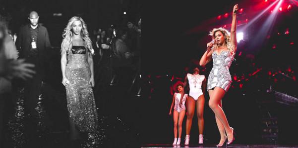 Beyonce Versace tour