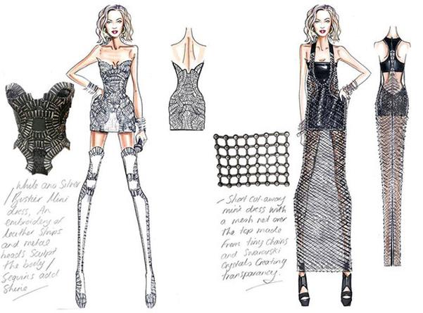 Beyonce tour 2014 Versace