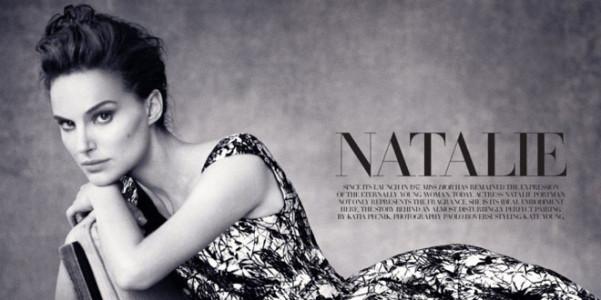 Natalie Portman Dior magazine