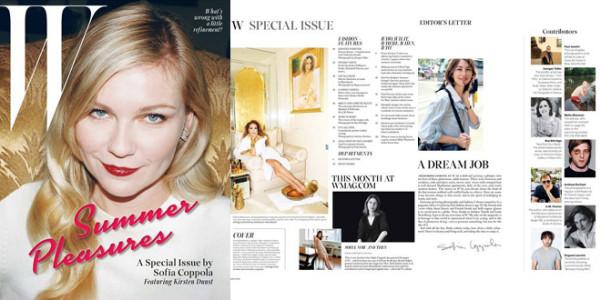 Sofia Coppola W magazine